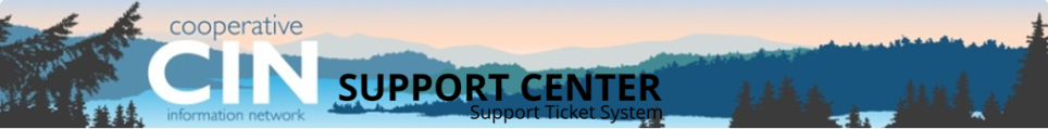 CIN Support Ticket System